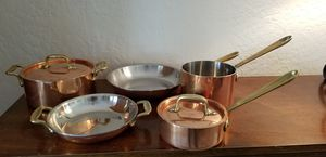 ALL CLAD Copper Cop*r Chef 7 piece Cookware for Sale in Scottsdale, AZ