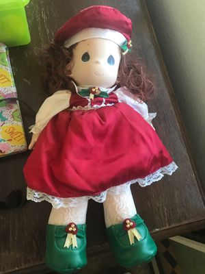precious moments christmas doll for Sale in Fontana, CA