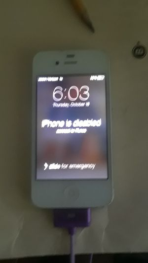 a disabled iPhone 5 for Sale in Columbus, OH