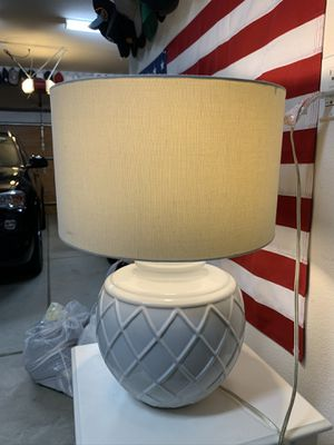 Two White Lamps for Sale in San Diego, CA