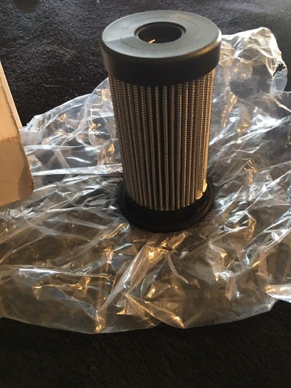 cooling fan motor filter for a bobcat skid steer