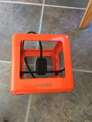 M3D 3D printer with two spoils of filament for Sale in Springfield, VA
