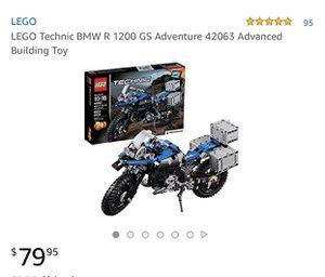 LEGO Technic BMW R 1200 GS Adventure 42063 Advanced Building Toy for Sale for sale  Nashville, TN