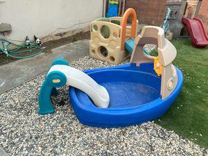 Play boat plus slide for Sale in Vallejo, CA