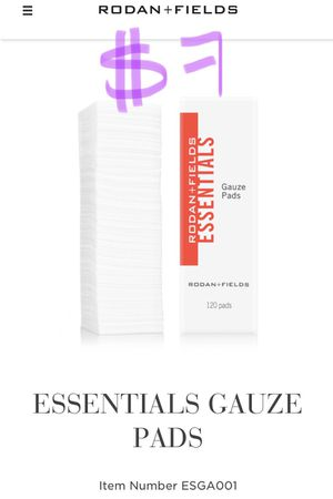 *NEW SEALED* Rodan and Fields Gauze pads for Sale in Arcadia, CA