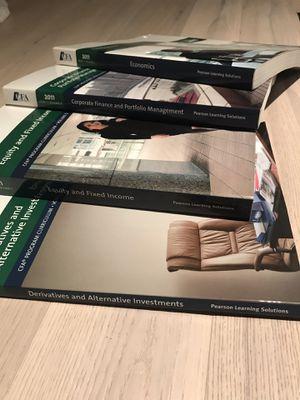 Used, CFA program curriculum level 1 book set for