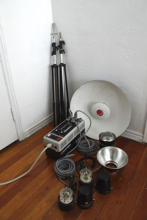 Norman P2000D Pack with Two LH2000 Heads with Beauty Dish and MORE! for Sale in Los Angeles, CA