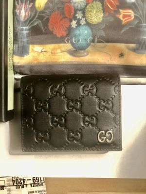 Gucci Signature card case wallet authentic for Sale in Wheeling, IL
