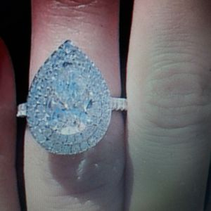 925 Sterling Silver Engagement Ring, Size 5. for Sale in Dallas, TX