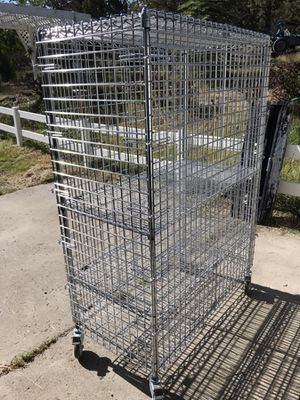 Locking wire shelving for Sale in Powell Butte, OR