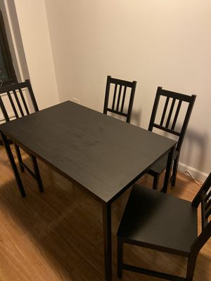 Table & 4 Chairs for Sale in New York, NY
