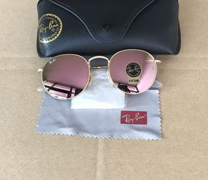 Ray ban round 3447 pink sunglasses for Sale in New York, NY