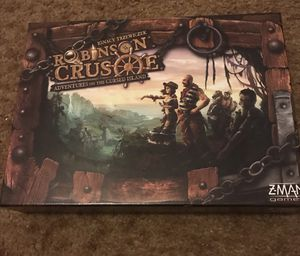 Robinson Crusoe: Adventures on the Cursed Island Board Game for Sale in Portland, OR