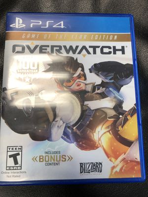 Overwatch PS4 for Sale in Chicago, IL