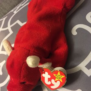 Rare Beanie Babies Snort The Bull Vintage 1995 Tag Errors PVC. for Sale in Romeoville, IL