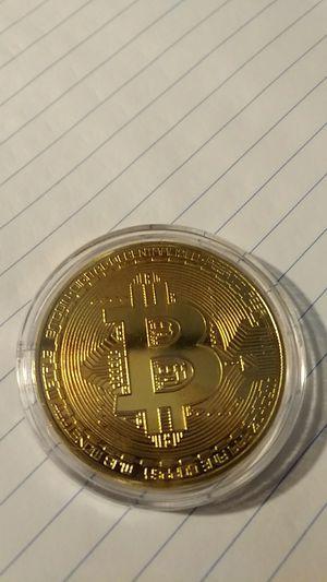 Gold clad Bitcoin for Sale in Tuscola, IL