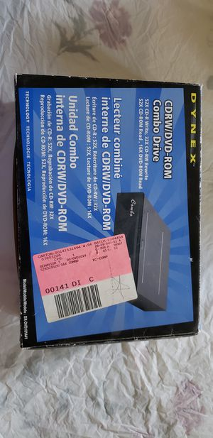 CDRW/DVD Rom for Sale in Modesto, CA