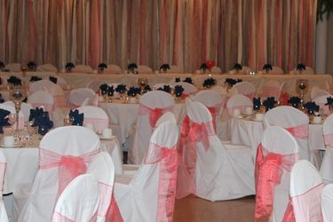 120 Coral Organza Chair Sashes for Sale in Bellevue,  WA