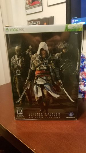 assassin's creed black flag collector's edition xbox 360 for Sale in Fresno, CA