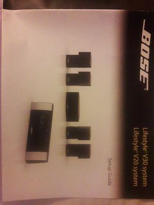 Teatro en casa Bose v30 sistem for Sale in San Jose, CA
