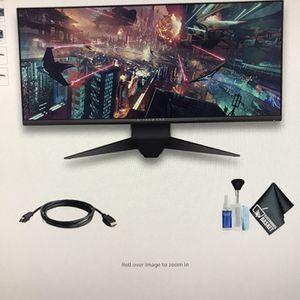 """Alienware (Dell) 34"""" Inch Monitor 120 Hz for Sale in Downey, CA"""