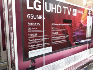 "65"" LG 4K 8 series UHD hdr smart TVs 2020 for Sale in Pico Rivera, CA"