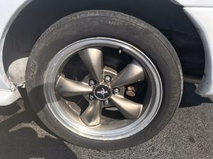 Ford Mustang rims and tire original logo for Sale in West Palm Beach, FL