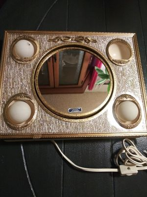 Vintage 1950's Matson Portable Electric Lamp 24K Gold Plated ( Vanity Mirror ) for Sale in Wilmington, CA