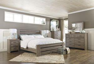 Zelen Waarm Gray Panel Bedroom Set | for Sale in Fairfax, VA