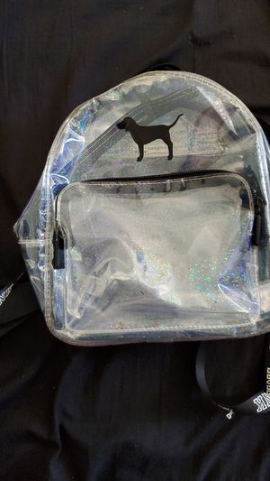 Pink clear backpack for Sale in San Diego, CA
