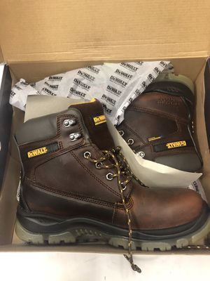 🇺🇸💥 DEWALT DXWP10011 Titanium WP Whiskey/Galactic Leather Work Boots SZ 9.5 for Sale in Los Angeles, CA