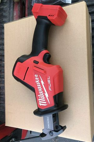 Milwaukee M18 FUEL 18-Volt Lithium-Ion Brushless Cordless HACKZALL Reciprocating Saw (Tool-Only) for Sale in Chula Vista, CA