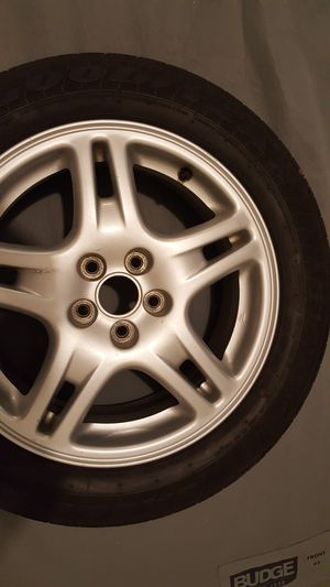 Brand new tires on alloy rims(205/55/r16) for Sale in Cashmere, WA