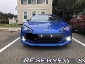 Brz spider Black halo projector headlights with Drl and trun singel for Sale in North Potomac, MD