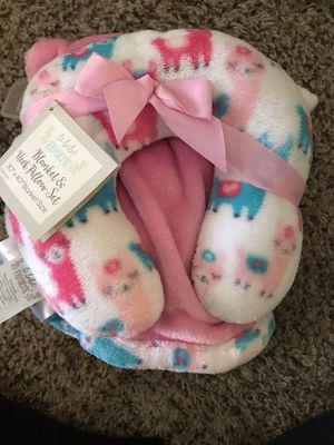 Baby blanket and neck pillow for Sale in Chandler, AZ