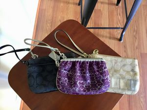 Coach wristlets for Sale in Arlington, VA