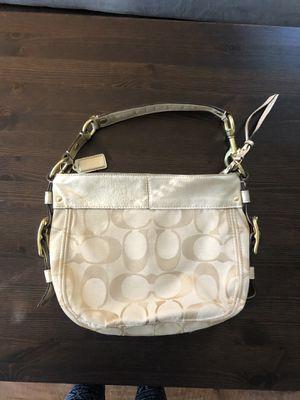 COACH Zoe Signature Logo Hobo Shoulder Bag for Sale in Nashville, TN