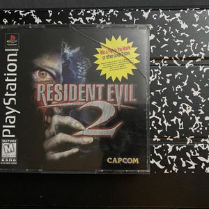PlayStation 1 Resident Evil 2 CIB for Sale in Lynwood, CA