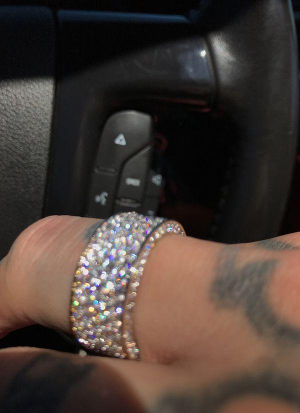 18k gold lab diamond ring
