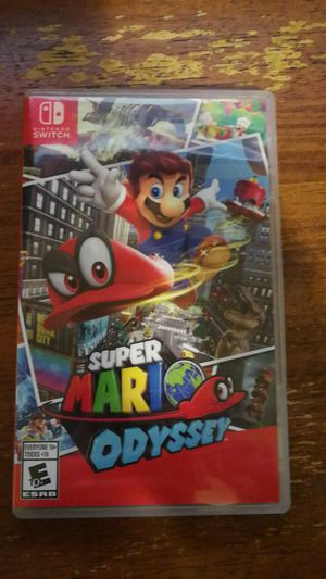 super mario odyssey for Sale in Raleigh, NC