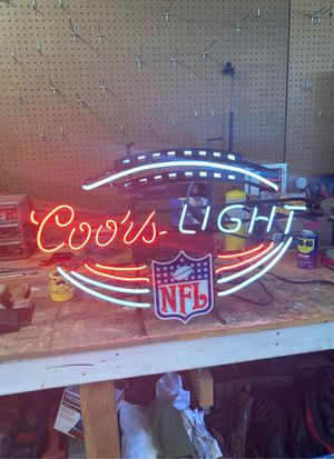 Neon Coors Light sign for Sale in Upland, CA