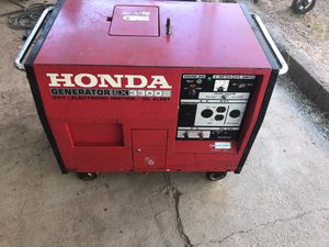 honda generator ex 3.300s for Sale in Las Vegas, NV