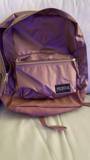 Jansport rose gold backpack for Sale in Laveen Village, AZ