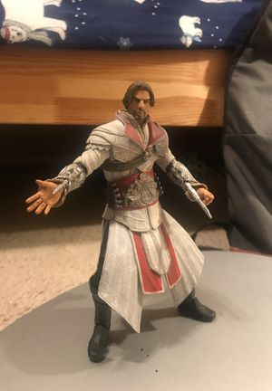 Ezio Action Figure (Assasins Creed III) Collectable for Sale in Phoenix, AZ