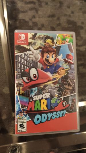 Super Mario Odyssey for Sale in Falls Church, VA