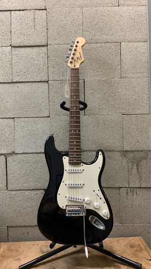 Fender Squier Strat Affinity Series 5-String Black Electric Guitar for Sale in Whittier, CA