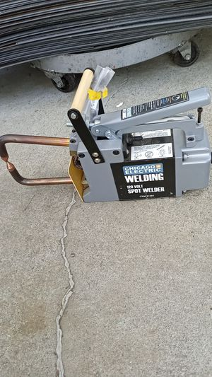 Portable spot welder 110 volts works great for Sale in Tracy, CA