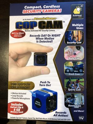 Cop cam for Sale in US