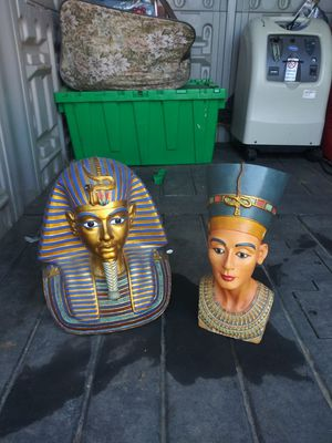 Egyptian figurines and statues collection for Sale in Orangevale, CA