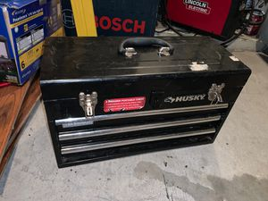 husky 3 drawer portable tool box for Sale in Austin, TX